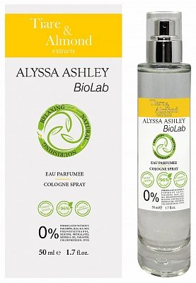 Afbeelding van Alyssa Ashley Biolab Tiare And Almond Eau de Cologne 50ml Spray