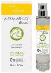 50ml Alyssa Ashley Biolab Tiare And Almond Eau Parfumee Edc Vapo