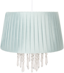 Clayre & Eef Hanglamp - Ø 40*38 cm e27/max 1*60w - groen - kunststof - Clayre & Eef - 6LAK0463LGR
