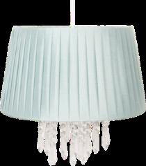 Clayre & Eef | Hanglamp Ø 40*38 cm E27/max 1*60W | Groen | Kunststof | 6LAK0463LGR