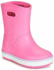 Roze Regenlaarzen Crocs CROCBAND RAIN BOOT K