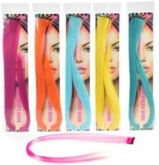 Merkloos / Sans marque Fluorescent Hair Extension 50Cm 6-Ass.