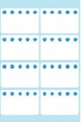 HERMA Deep-freeze labels 26x40mm white ice crystals 56 pcs. 56stuk(s) etiket
