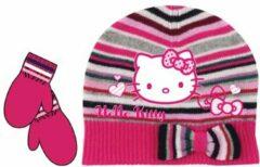 Hello Kitty Muts & Handschoenen - Maat 48