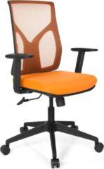 Hjh office Turan - Bureaustoel - Netstof - Oranje