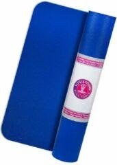 Yogi & Yogini Rubber Yogamat (Blauw)