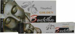 Gouden Vijayshree Golden Buddha wierook (12 pakjes a 15 gram)