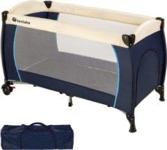 TecTake - kinder reisbed babybed - blauw - 402416