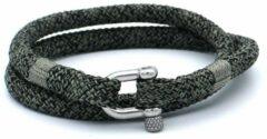 Groene MR. JACOB Karl dubbele touw armband