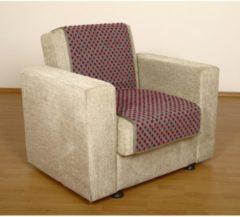 Sesselschoner Sitzflächenschoner Wolle Noppen ca. 175 x 47 cm silber Linke Licardo silber
