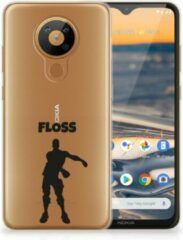 B2Ctelecom Smartphone hoesje Nokia 5.3 Telefoontas Floss Fortnite