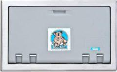 Koala Kare Products Horizontaal Inbouw - Koala babyverschoonstation Grijs KB100-ST met RVS-Bekleding