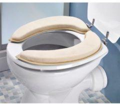 Zandkleurige Toiletbrilkussen TRI zand