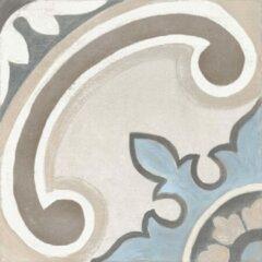 Cifre Ceramica Cifre Cerámica Vloer- en wandtegel Adobe Decor Gales Ivory 20x20 cm Vintage Mat Multi SW07310475-6