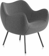 Donkergrijze Vzór Design Fauteuil / Stoel RM58 SOFT Step-15