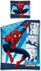 Blauwe Marvel Dekbed Spider-Man picture: 140x200/70x80 cm