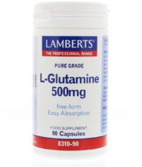 Lamberts L-glutamine 500mg /l8310-90 groter dan