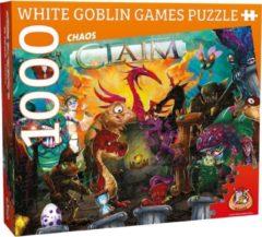 Puzzel 1000 Stukjes Volwassenen - Legpuzzel - White Goblin Games - Claim 3 - Puzzel 1000 Stukjes