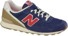 Blauwe New Balance WR996HG, Vrouwen, Blauw, Sneakers maat: 36.5 EU