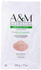 Bruine A&M cosmetics GHASSOUL POEDER/GHASSOULl/RHASSOUL POEDER,biologische haar&gezichtmasker