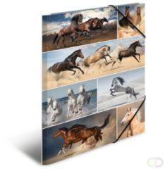 HERMA 19217 Elastomappen A3 karton paarden