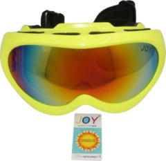 Gele Joy Teton Kids TPU Ultra-Light frame. DUBBEL layer lens. Ski/Snowboard Goggle