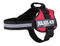 """Rode """"Julius k9"""" """"Julius k9 power-harnas voor hond / tuig voor voor labels rood maat 2/71-96 cm"""""""