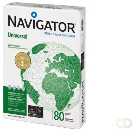 Afbeelding van Kopieerpapier Navigator Universal Nonstop A4 80gr wit