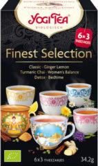 Yogi Tea Finest selection 3 x 6 stuks 3x6 Stuks