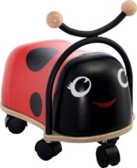 Rode Simply for kids Ride on ladybug loopauto Lieveheersbeestje