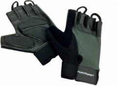 Zwarte Tunturi Fit Control - Fitness Gloves - Fitness handschoenen - Maat L