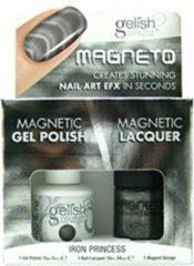 Harmony Gelish Gel Polish/Nail Lacquer Iron Princesss 15ML