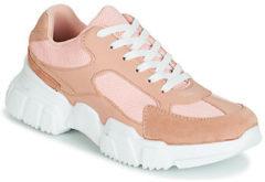 Roze Lage Sneakers Yurban JILIBELLE