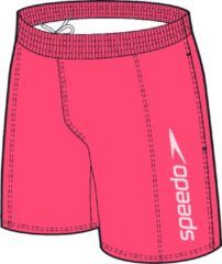 Speedo - Scope 16'' Watershort - Boardshorts maat L, rood/roze