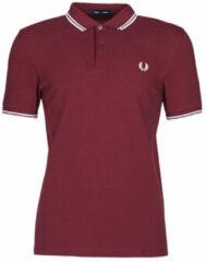 Rode Fred Perry Twin Tipped Shirt Twin Tipped Shirt Heren Poloshirt Maat XL