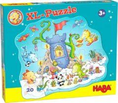 Haba legpuzzel Draak Flonkervuur junior karton 20 stukjes