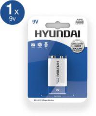 Hyundai Super Alkaline 9V Batterijen 2 stuks