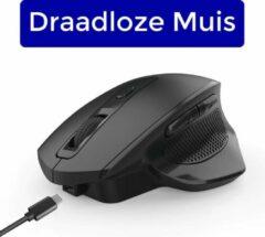 Zwarte Muis draadloos ZDR X900 ZEDAR (Ergonomische draadloze muis laptop)