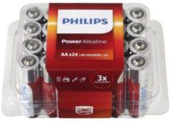 Philips Power Alkaline Batterij LR6P24P/10 niet-oplaadbare batterij