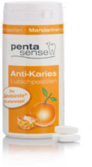Penta-Sense Anti-Karies-Pastillen Mandarine, 135 Stück