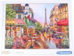 Clementoni legpuzzel flowers in Paris 1000 stukjes