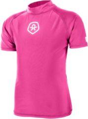 Color Kids Timon SS Tee UPF 50+ Junior Zwemshirt kind - Maat 104 - Unisex - roze