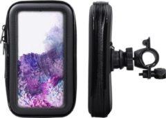 Shop4- Samsung Galaxy S20 Plus Fietshouder Stuur Spatwaterdicht Zwart