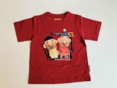 Rode Buurman & Buurman T-shirt Buurman en Buurman Unisex T-shirt Maat 98/104