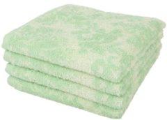 SEASTAR Premium Handtuch 4er-Set grün