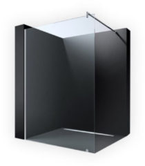 Douche Concurrent Inloopdouche Erico 1100 105x200CM Antikalk Helder Glas Chroom Profiel 8mm Veiligheidsglas Easy Clean