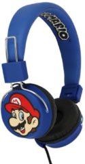 Blauwe OTL Technologies Super Mario - Mario & Luigi - folding koptelefoon (8j+)