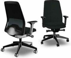 Zwarte Interstuhl New EveryIs1 Chillback EV311 Bureaustoel NEN EN-1335 gecertificeerd