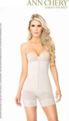 Huidskleurige Ann Chery Body Shaper 'Titi' - Top kwaliteit- Powernet met Lycra - Nude - Maat L (kledingmaat 38/40)