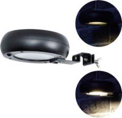 Zwarte O'DADDY O'DADDY Alioth tuinverlichting | solar buitenverlichting | wandlamp zonne energie | bewegingssensor